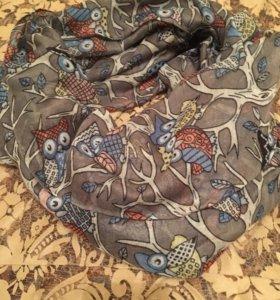 Новые снуды и шарфы