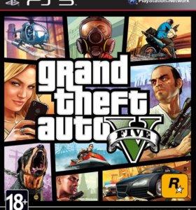 Игра GTA 5 на PlayStation 3 PS3