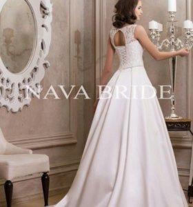 Шикарное свадебное платье Айвори размер 40-44