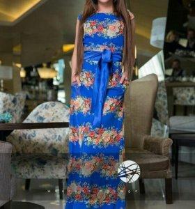 Длинное платье 42-44
