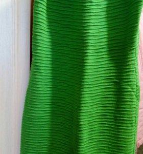 Платья зеленые