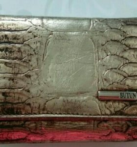 Кожаный кошелёк Butun