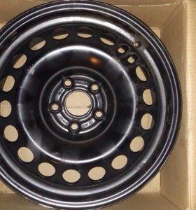 Комплект оригинальных дисков на Chevrolet Cruze