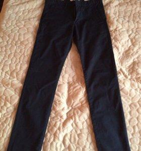 Skinny fit 29 размер Мужские Тёмно синие Hm