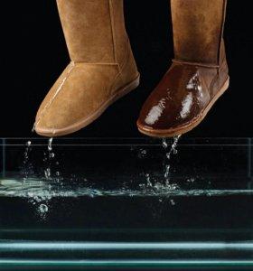 Защита для одежды и обуви от влаги и грязи.