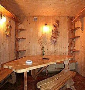 Внутренняя отделка деревянных домов, бань .