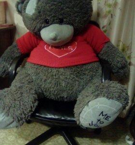 Огромный медведь игрушка в подарок