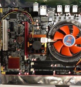Материнская плата 1366 x58 + Xeon E 5540