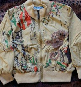 Очень крутая курточка (ветровка на подкладке)