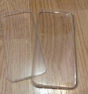 Чехол силиконовый для iPhone 5/5s/6/6s/6(s) plus/7