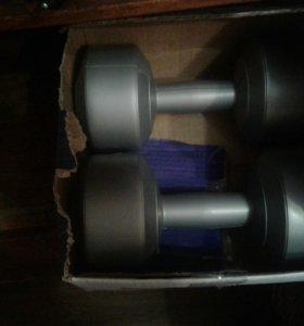 Гантели виниловые 4 кг