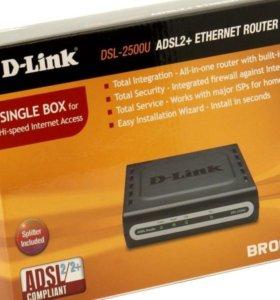 Роутер D-Link (модем, маршрутизатор)