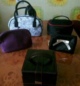 Косметички, сумочки