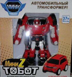 Автомобильные трансформеры Тоботы мини