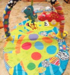 Развивающий коврик для малышей Dino Gym