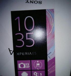 Телефон Sony experia e5 16gb