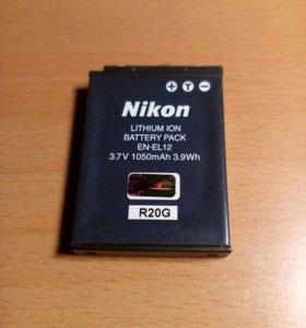 Продам акб Nikon EN-EL12.