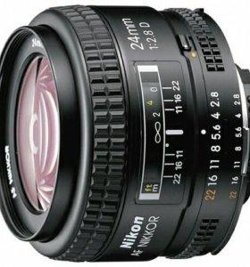 Объектив Nikon 24mm f/2.8 D AF Nikkor
