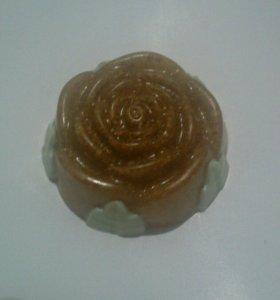 Мыло скраб роза