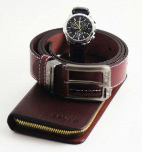 Часы Tissot Портмоне Devi's Ремень Levis