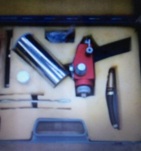 Пистолет газопламенного напыление металлов