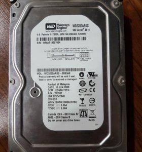 Жёский диск 320 gb. SATA
