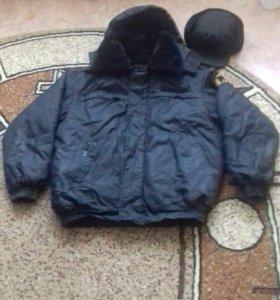 Теплая куртка для Охранника