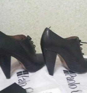 Ботинки закрытые на каблуке Paolo Conte