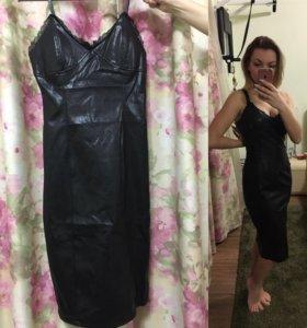 Платье ЭКО кожа
