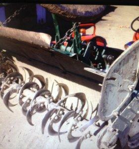 Вспашу землю.услуги трактора.разработка участков.