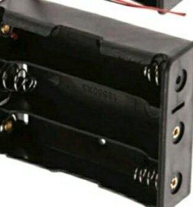 Box 1шт 2х18650, 3×18650 для li-ion аккумуляторов.