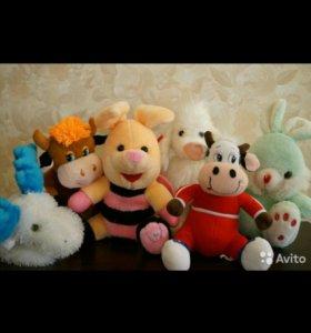 Мягкие игрушки 30-35 см.