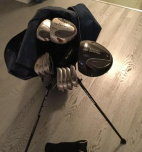 Клюшки для гольфа U.S.Kids в хорошем состоянии