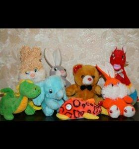 Мягкие игрушки 20-30 см.