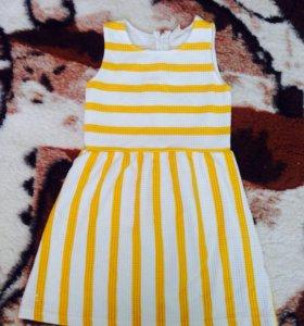 Платье и юбка на 4-6 лет