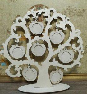 Семейное дерево, фоторамка