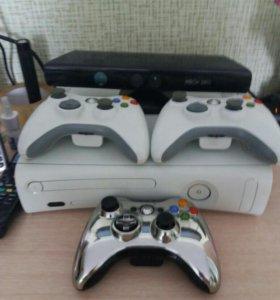 Xbox 360 3джостика и KINECT