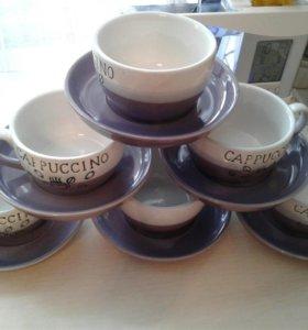 Сервиз для капучино (кофе)