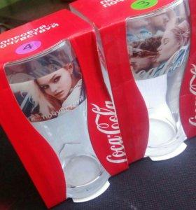 Коллекционные стаканы coca cola