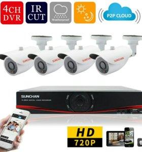Камеры видеонаблюдения для дома, офиса .