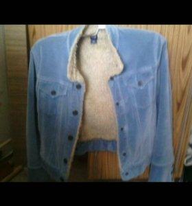 Джинсовая куртка Cap с мехом