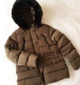 Новая куртка пуховик зимняя Zara
