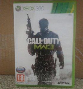 Лицензионный диск на X-Box (Call of Duty MW3)