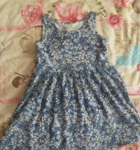 Платья для девочки 116р-р