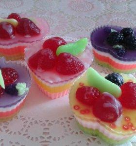 Мыльные пироженки!