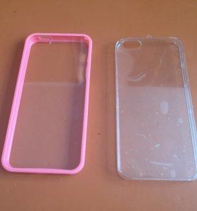 Чехлы новые iPhone 5s