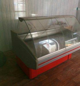 Холодильник б/у ветринный )