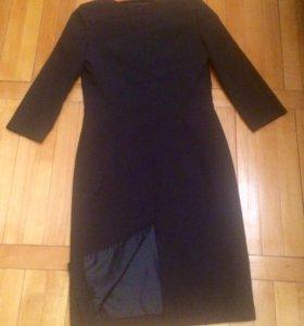 Чёрное элегантное платье