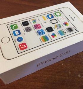 Коробка от iPhone 5S Gold на 16GB