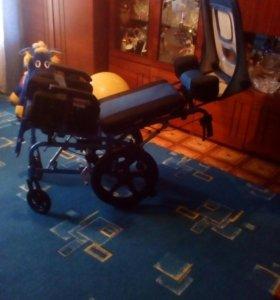 Инвалидная коляска подрастковая новая
